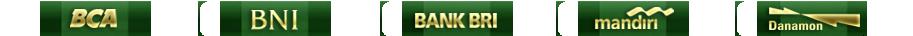 bank yang disediakan menuqq